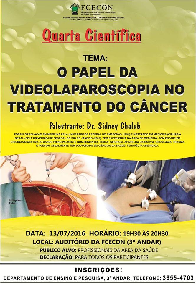 Quarta Científica - Videolaparoscopia