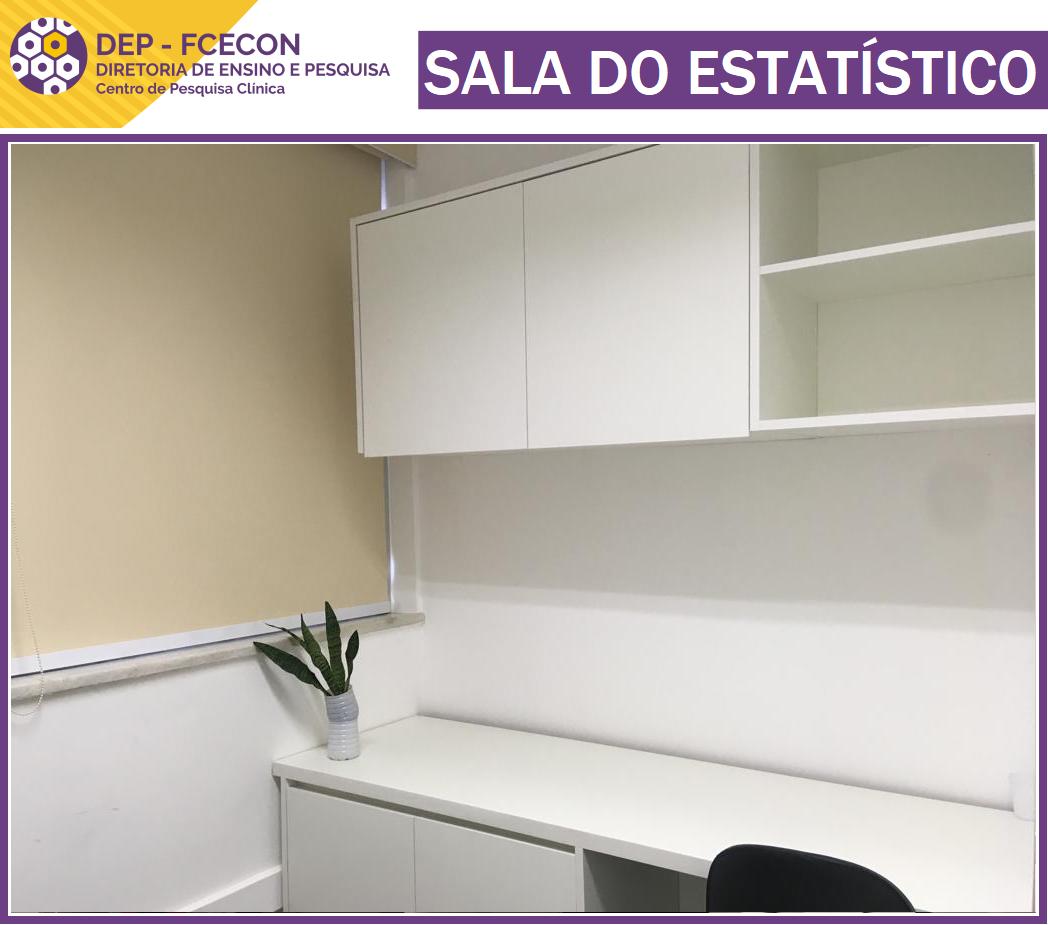 DEPOIS - Sala do Estatístico