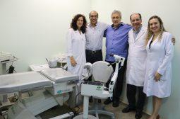 FCecon recebe doação de equipamentos ginecológicos e amplia atendimentos