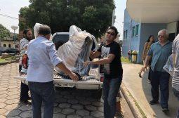 Fundação Cecon recebe doação de cadeiras de rodas