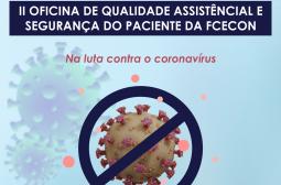 FCecon realiza oficina sobre prevenção ao novo Coronavírus