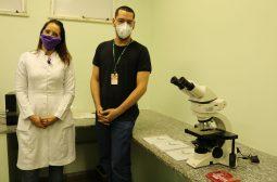 Novo microscópio beneficia pesquisas e amplia análise de biópsias da FCecon