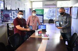 FCecon e Hemoam recebem tablets doados pela Samsung