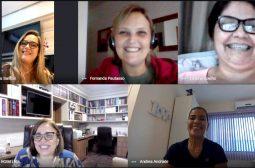 Profissionais da FCecon participam de reunião virtual sobre programas de Navegação